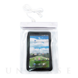 Waterproof Clear Porch, White for 7inch Tablet Device