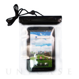 Waterproof Clear Porch, Black for 7inch Tablet Device