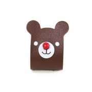 NANA FRIENDS ROLL UP EARPHONE WINDER(Bear)