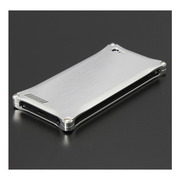 【iPhone5 ケース】ソリッド for iPhone5 Silver