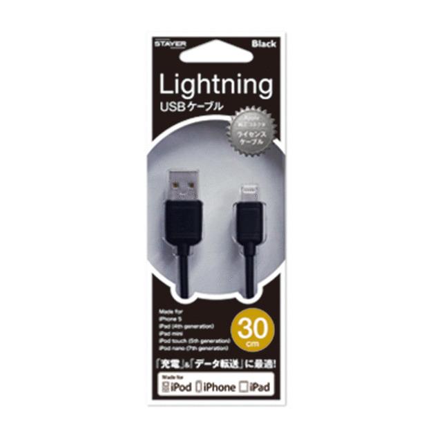 iPod & iPhone ライトニングケーブル ブラック