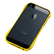 【iPhoneSE/5s/5 ケース】CLEAVE ALUMINUM BUMPER AERO (European Yellow)