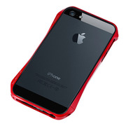 【iPhoneSE/5s/5 ケース】CLEAVE ALUMINUM BUMPER AERO (European Red)