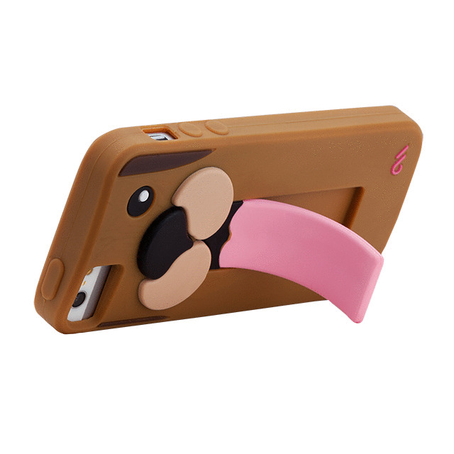【iPhoneSE(第1世代)/5s/5 ケース】Snap Creatures Case (Dog)