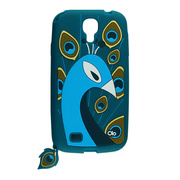 【GALAXY S4 ケース】Creatures: Peacock, Teal
