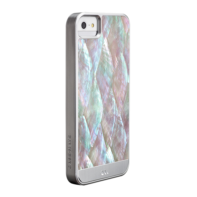 【iPhoneSE(第1世代)/5s/5 ケース】Crafted Case Pearl, Silverサブ画像