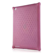 【iPad(第3世代/第4世代) iPad2 ケース】New iPad Bubble pink with Duck Button