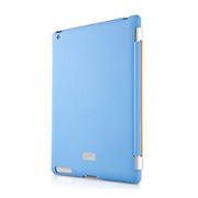 【iPad(第3世代/第4世代) iPad2 ケース】New iPad Smartskin blue