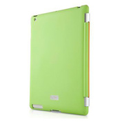 【iPad(第3世代/第4世代) iPad2 ケース】New iPad Smartskin green