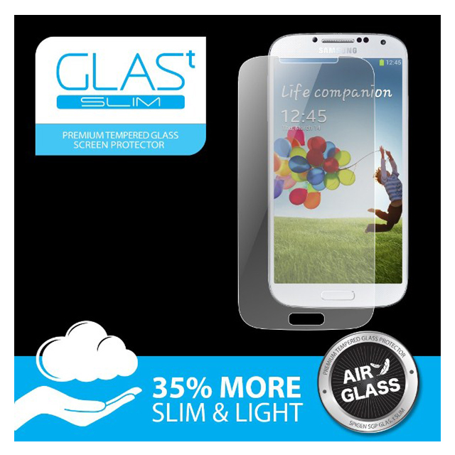 【GALAXY S4】Oleophobic Coated Tempered Glass GLAS.t SLIMサブ画像