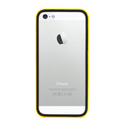【iPhoneSE/5s/5 ケース】B1 Bumper Full Protection (Yellow Glossy)