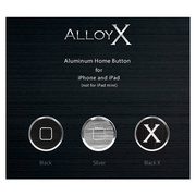 Alloy X Home Button Set for iPhone/iPad - Basic - Silver×Black×Black X