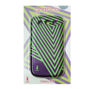 【GALAXY S3 ケース】Rabito Galaxy S3 S-06 PURPLE+GR