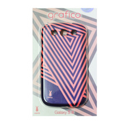 【GALAXY S3 ケース】Rabito Galaxy S3 S-03 PURPLE+PK