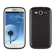 【GALAXY S3 ケース】PixelSkin HD - Black