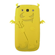 【GALAXY S3 ケース】Satan Silicone Case, Yellow