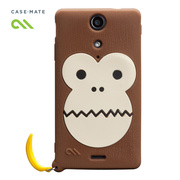 【XPERIA GX ケース】Creatures: Bubbles Case, Brown