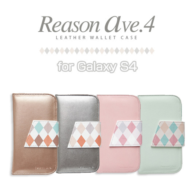 【GALAXY S4 ケース】Reason ave.4 ピンクgoods_nameサブ画像