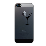 【iPhoneSE/5s/5 ケース】iTattoo Magic Cocktail BLACK