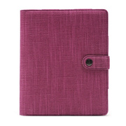 【iPad(第3世代/第4世代) iPad2 ケース】Booqpad purple-plum