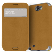 【GALAXY S4】Trenther View Flip for Galaxy S4 Made in Korea (Brown)