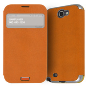 【GALAXY S4】Trenther View Flip for Galaxy S4 Made in Korea (Orange)