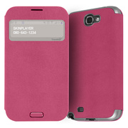 【GALAXY S4】Trenther View Flip for Galaxy S4 Made in Korea (Hot Pink)
