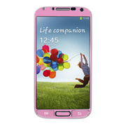 【GALAXY S4 スキンシール】Aluminize for Galaxy S4 Made in Korea (Pink)