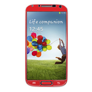【GALAXY S4 スキンシール】Aluminize for Galaxy S4 Made in Korea (Red)