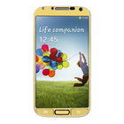 【GALAXY S4 スキンシール】Aluminize for Galaxy S4 Made in Korea (Gold)