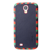 【GALAXY S4 ケース】Jester (Chic 02) Genuine Leather Case (レッド)