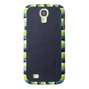 【GALAXY S4 ケース】Jester (Chic 03) Genuine Leather Case (グリーン)