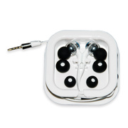 OUTBACK-11Waterproof Ear Buds with Microphone (White)