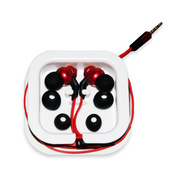 OUTBACK-11Waterproof Ear Buds with Microphone (Red)