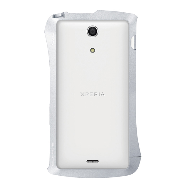 【XPERIA A ケース】CLEAVE ALUMINUM BUMPER Katana(Dark Night Silver)サブ画像