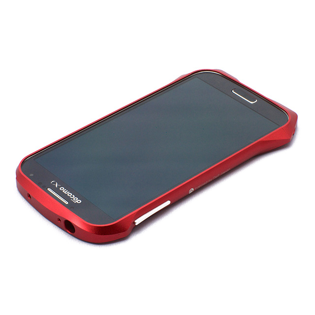 【GALAXY S4 ケース】CLEAVE ALUMINUM BUMPER AIRBORNE(FLARE RED)