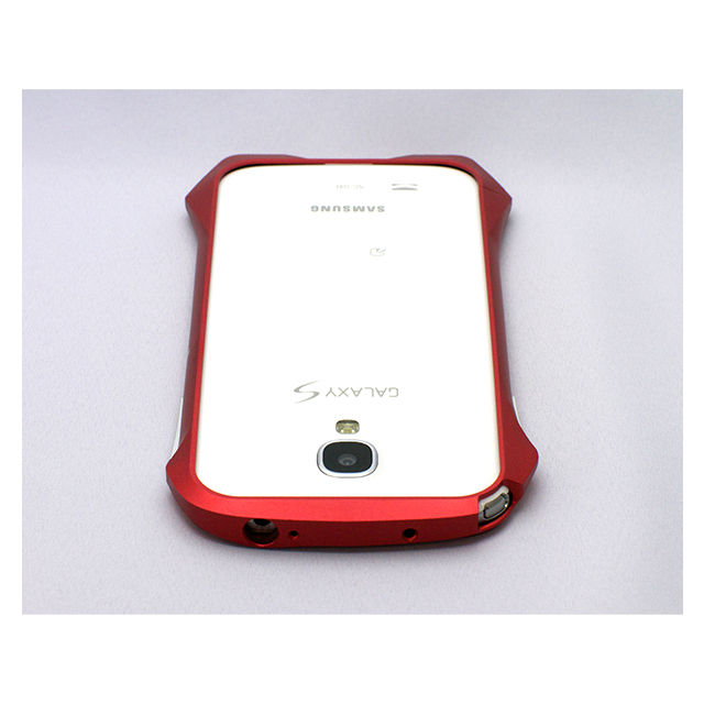 【GALAXY S4 ケース】CLEAVE ALUMINUM BUMPER AIRBORNE(FLARE RED)サブ画像