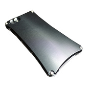 【iPhone5s/5 ケース】Smart Veil TYPE2 (Silver2×Black)