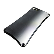 【iPhone5s/5 ケース】Smart Veil TYPE1 (Black1×Silver)