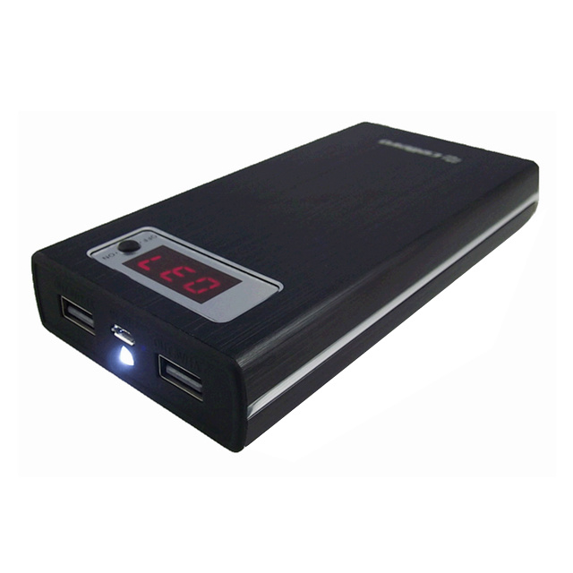 モバイルバッテリー Energimax Series PowerBank 18000mAh(Black)