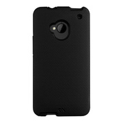 【HTC J One ケース】Hybrid Tough Case, Black/Black