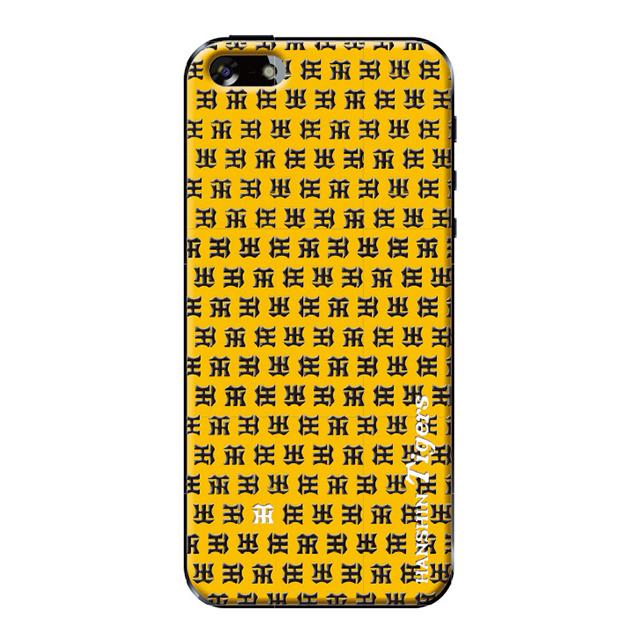 069820bb22 ... 【限定】【iPhoneSE/5s/5 ケース】阪神タイガース モノグラム(イエロー ...