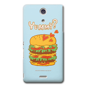 【XPERIA A ケース】CollaBorn Yummy
