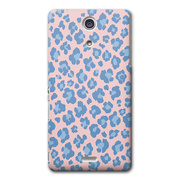 【XPERIA A ケース】CollaBorn Leopardess