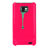 【GALAXY S2 ケース】Bling My Thing SPLASH! Pink/Turquoise