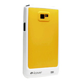 【GALAXY S2 ケース】icover DUESシリーズ イエロー