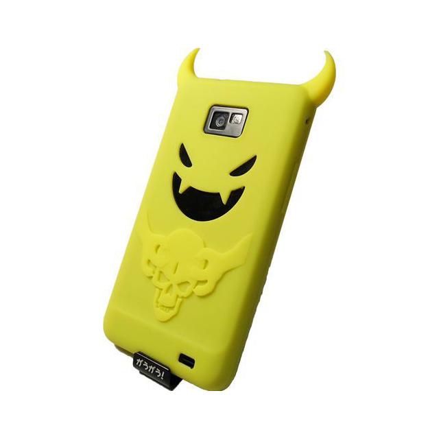 【GALAXY S2 ケース】Satan Silicon Case, Yellow