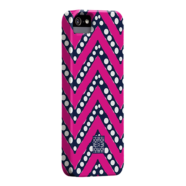 【iPhoneSE(第1世代)/5s/5 ケース】DESIGNER PRINTS Barely There Case, IOMOI Chevron Popサブ画像