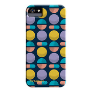 【iPhoneSE(第1世代)/5s/5 ケース】DESIGNER PRINTS Barely There Case, Tad Carpenter Circles and Shapes