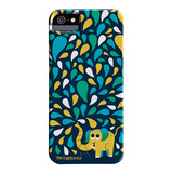 【iPhoneSE/5s/5 ケース】DESIGNER PRINTS Barely There Case, Tad Carpenter Spring Spray